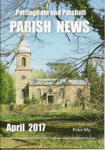 Magazine cover April 2017