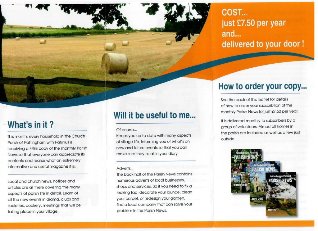 Free magazine leaflet part 2
