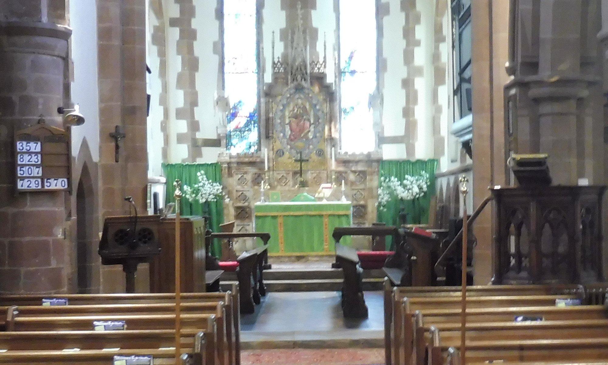 Pattingham church