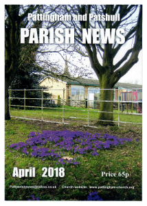 Magazine cover April 2018