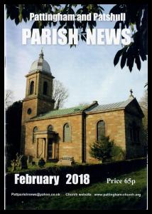 Magazine cover Fedbruary 2018