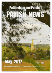 Magazine cover May 2017