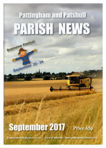 Magazine cover September 2017