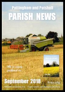 Magazine cover September 2018