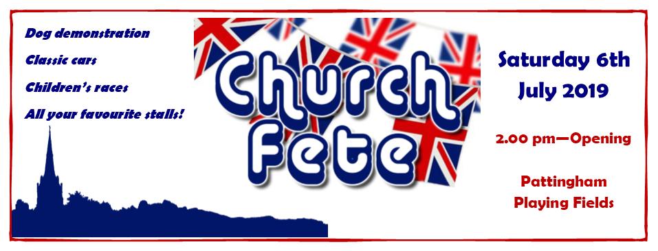 Church Fete 6th July