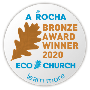 Eco Church Bronze award winner