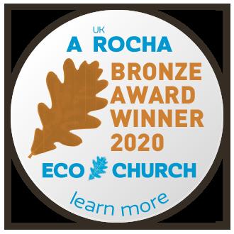 Eco Church Bronze award winner